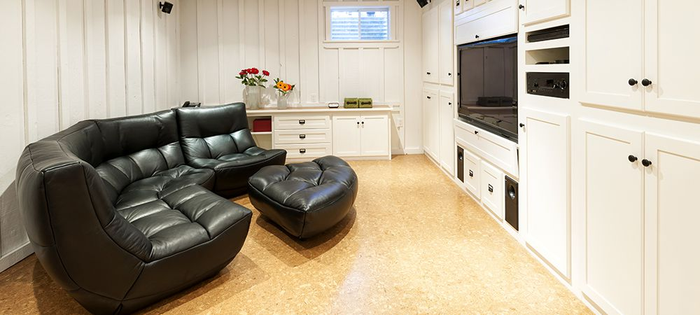 size of basement